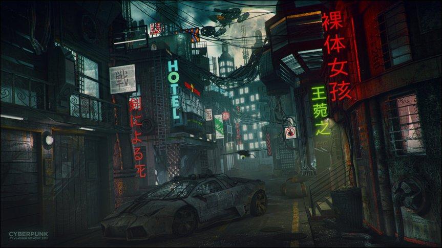 Neon-Dystopia